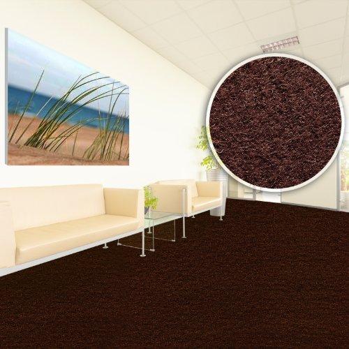 Floori comfort teppichfliesen nadelfilz braun selbstklebend online shop teppiche - Teppichfliesen selbstklebend verlegen ...