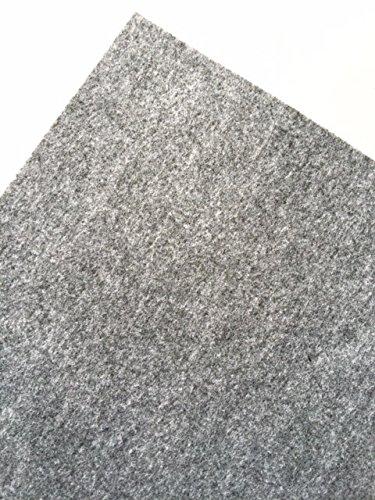 Teppichfliesen filz nadelfilz 8qm teppich 50 stk auslegware selbstklebend strapazierf hig grau - Selbstklebende teppichfliesen ...